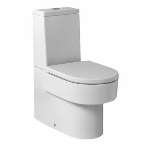 Roca Happening Close Coupled Toilet With Dual Flush Cistern - Soft Close Seat -White